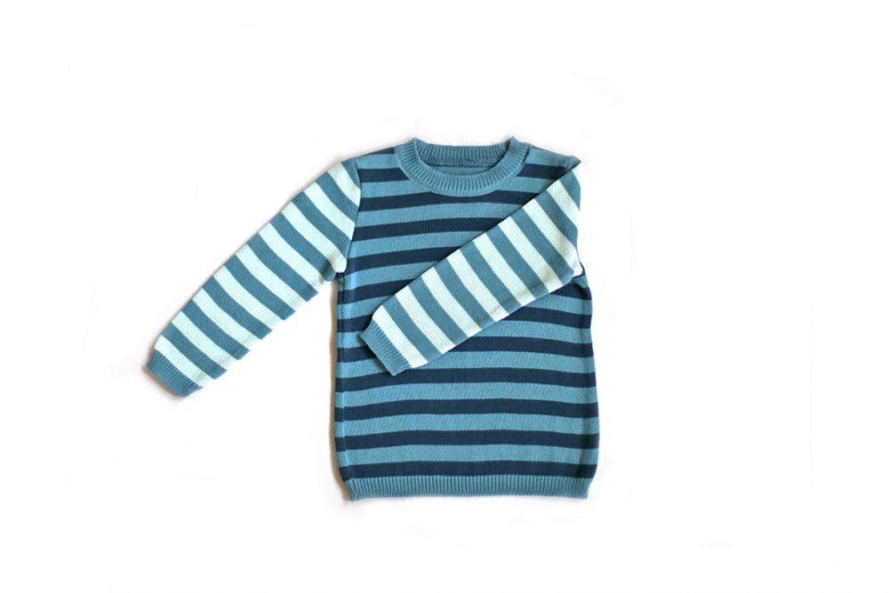 Strickpulli für Kinder Bio Baumwolle